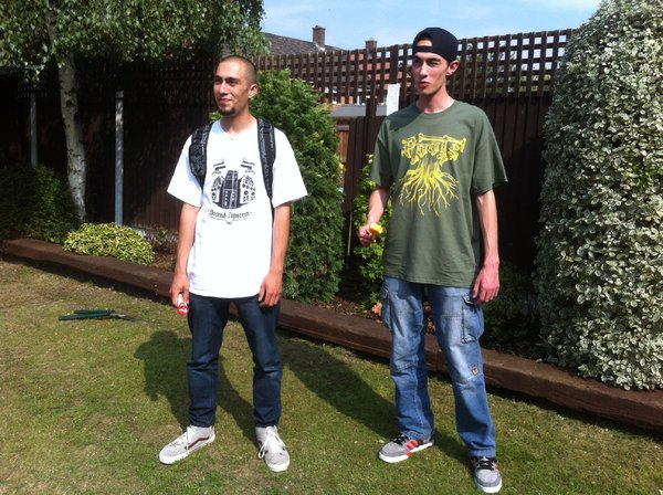 Danny 'Wokmore' Greenhill & Josh Wang doing there ting!\\n\\n19/08/2014 16:42