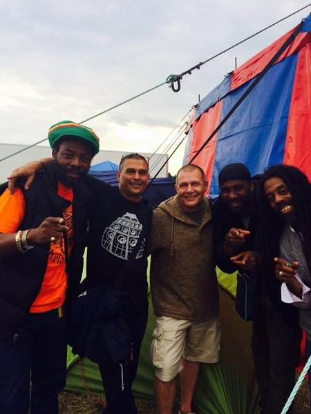 Donavan Kingjay, Selekta Gold, Myself, El Indio & Gregory Fabulous at One Love Festival.\\n\\n19/08/2014 16:43