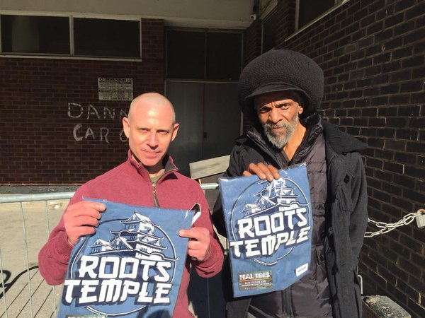 Chazbo & Jah Shaka with the new Roots Temple Tee, bless up for the collaboration Chazbo.\\n\\n07/05/2015 18:43