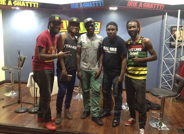 Raging Fyah in JA, big up fellas big tings coming!\\n\\n06/12/2015 20:30